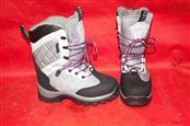 Klim Womens Size 7Dark Grey/Black/Purple Aurora GTX Laced Snowmobile Boots